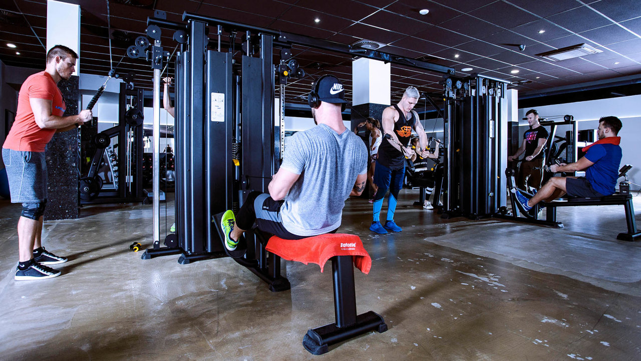 Čtyřikrát vPraze. Euforie má fitness centra naŽižkově, Pankráci, Smíchově avKarlíně.