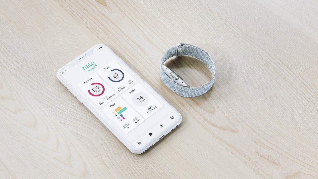 Majitel náramku Halo se může vaplikaci v mobilním telefonu zpětně podívat, jaké emoce jeho hlas vrůzných částech dne naznačoval.