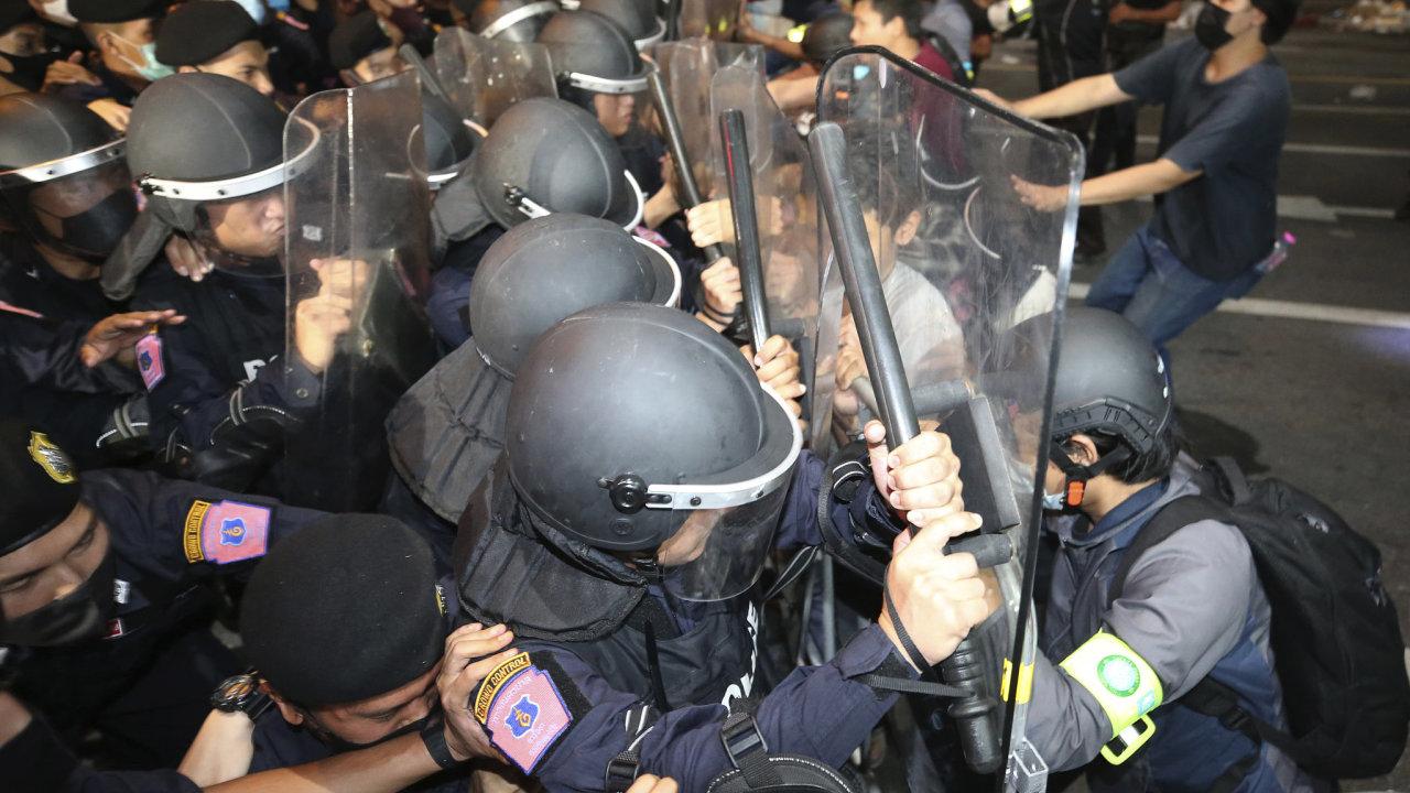 thajsko demonstrace