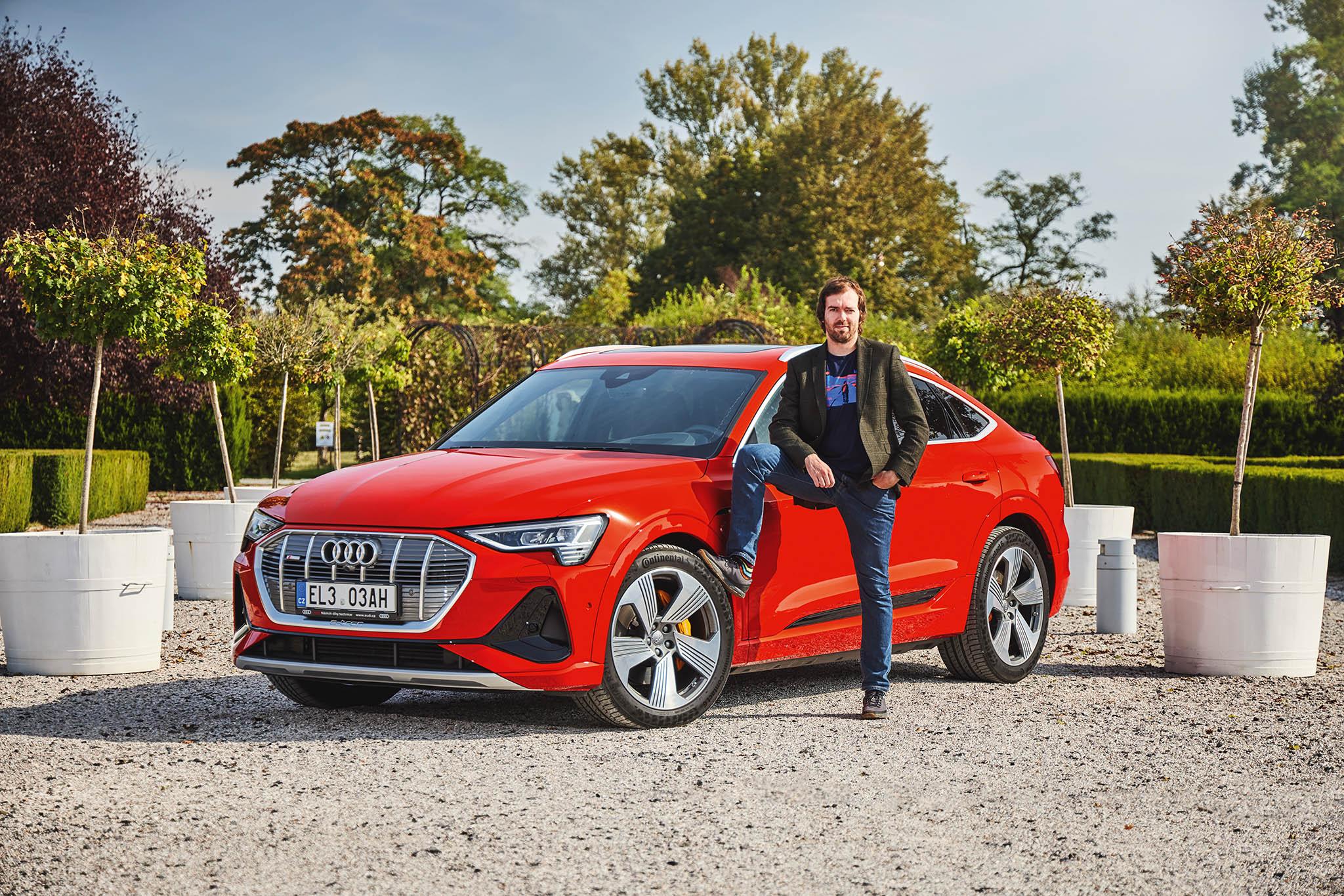 Petr Paseka: Audi e-tron 55 quattro Sportback