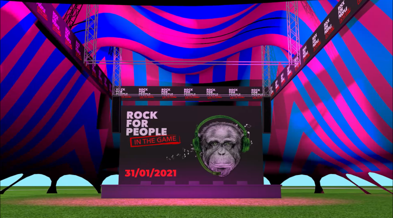 Rock for People In The Game