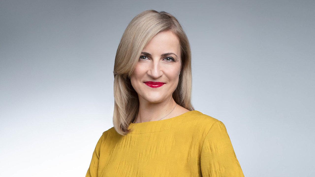 TOP manažerka Česka 2020 Daniela Pešková, členka představenstva zodpovědná zaretailové bankovnictví vČeské spořitelně