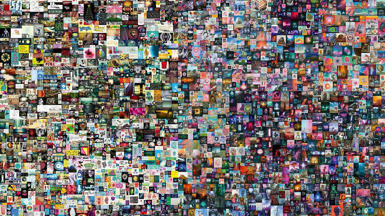 Nejdražším NFT umělcem je Mike Winkelmann, známý jako Beeple. Jeho koláž složenou zpěti tisíc obrázků, které předtím publikoval den zadnem, vydražila aukční síň Christie'sza1,5 miliardy korun.