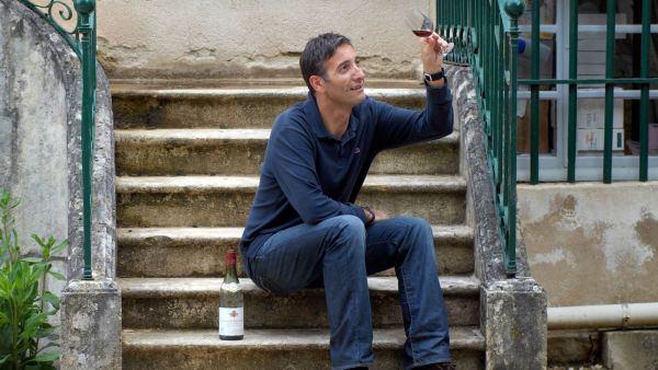 Francouzský milovník vína
