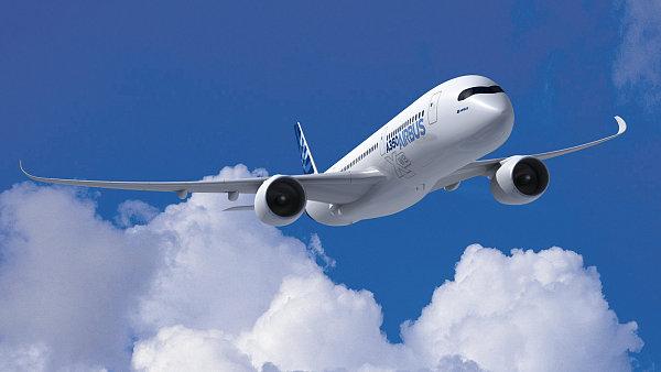 Dod�vky Airbusu A350 za�aly pomaleji, ne� v�robce p�edpokl�dal - Ilustra�n� foto.