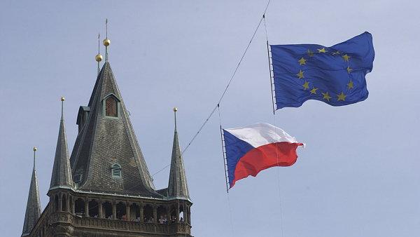 Vlajka EU, ilustra�n� foto