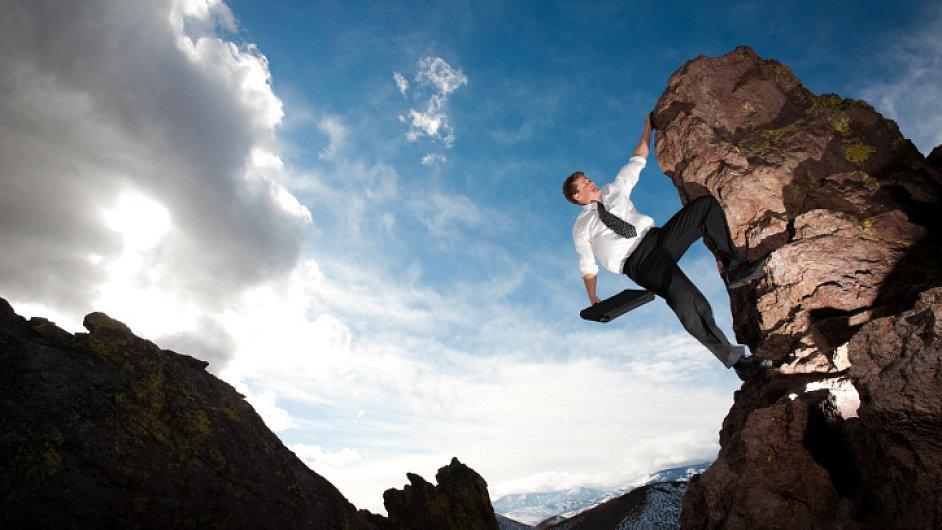 Ilustrační foto: Byznysman na vrcholu