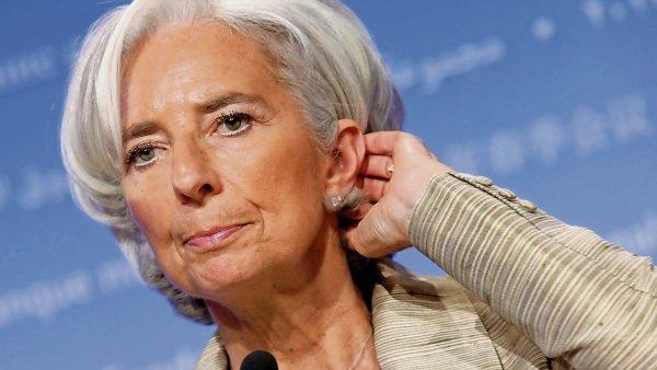 Ředitelka MMF Christine Lagardeová.