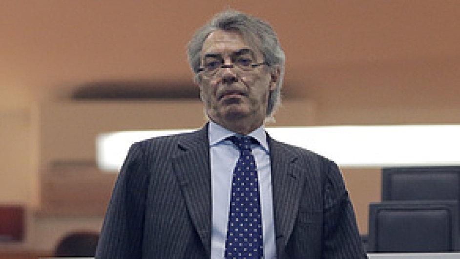 Massimo Moratti odchází