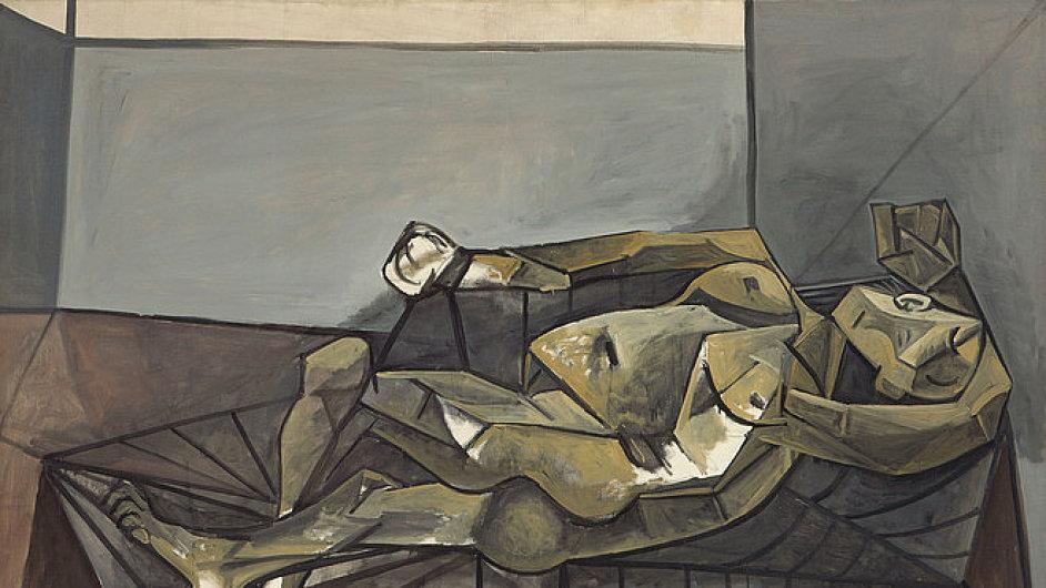 Picassův obraz z Guggenheimova muzea v New Yorku, ilustrační foto