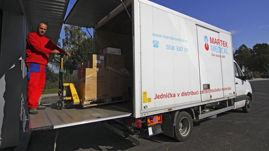 Martek Medical bude řídit své konsignační sklady logistickým systémem DCIx WMS