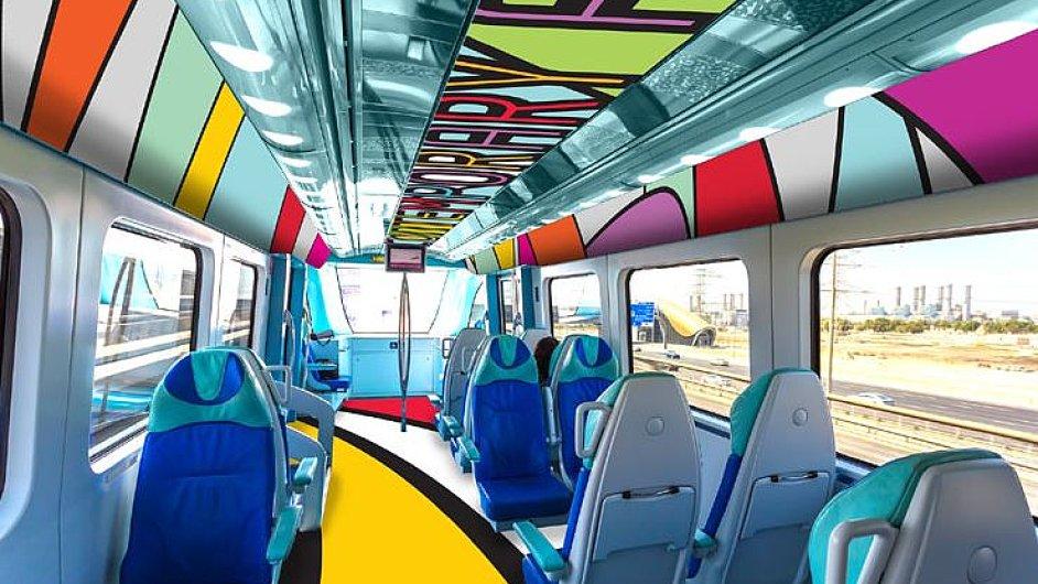 Návrh umělecké přestavby metra v Dubaji