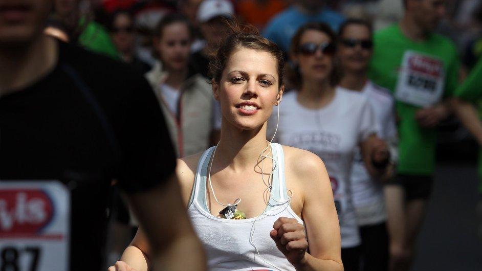 Pražský mezinárodní maraton PIM.
