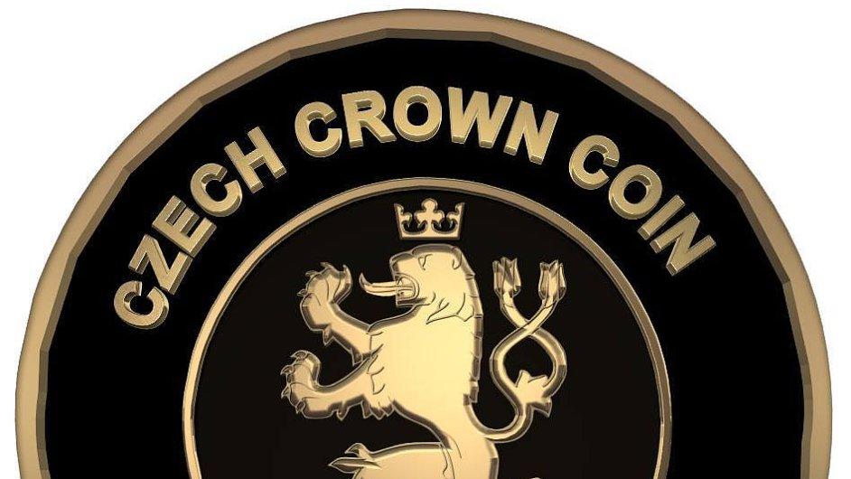 Logo nové české digitální měny
