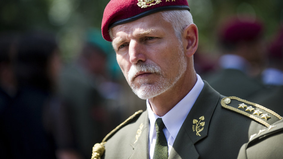 Náčelník Generálního štábu ČR Petr Pavel