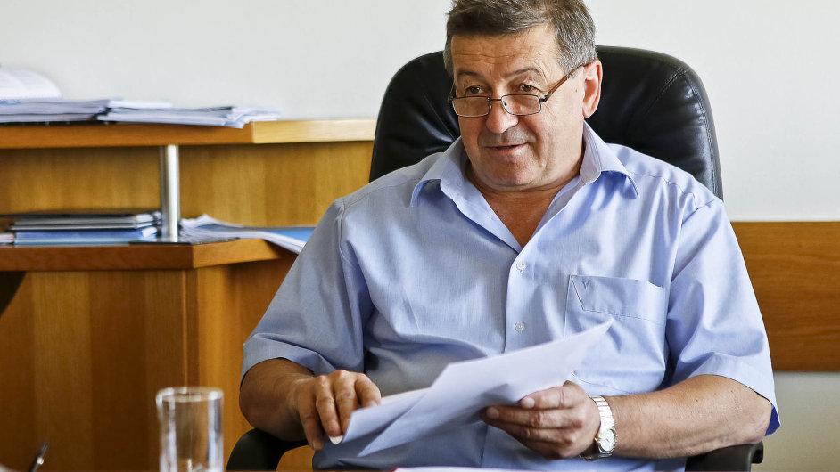 Exministr průmyslu Jiří Cienciala.