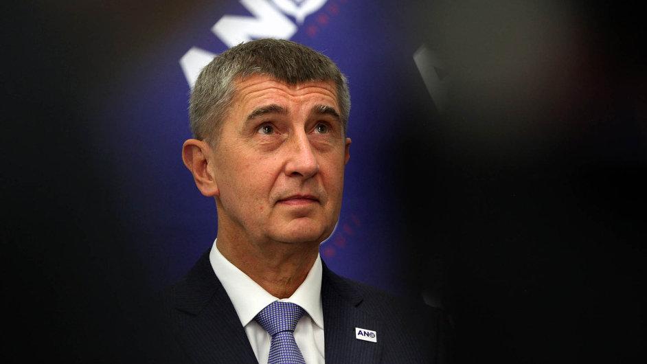 Andrej Babiš, šéf hnutí ANO a ministr financí
