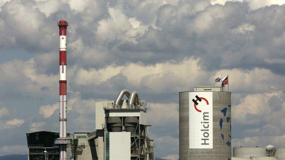 Fracnouzský výrobce stavebnin Lafarge se spojí se svým švýcarským konkurentem Holcim