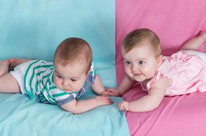 Proč mají holčičky rády růžovou a kluci modrou? Podle vědců jde o návyk