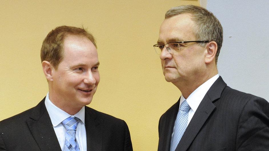 Petr Gazdík a Miroslav Kalousek dlouho symbolizovali spojenectví Starostů a TOP 09.
