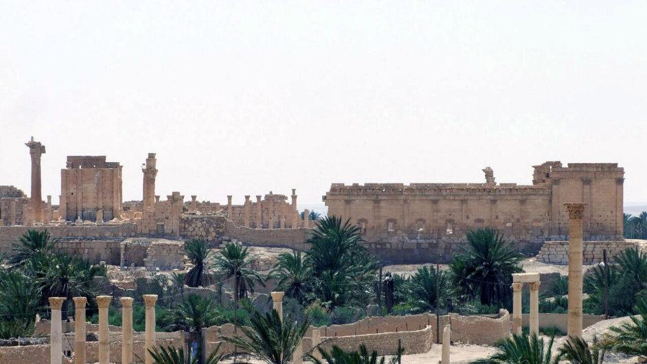 Islamisté pronikli do historického města Palmýra, které v minulosti sloužilo jako důležitá regionální zastávka.