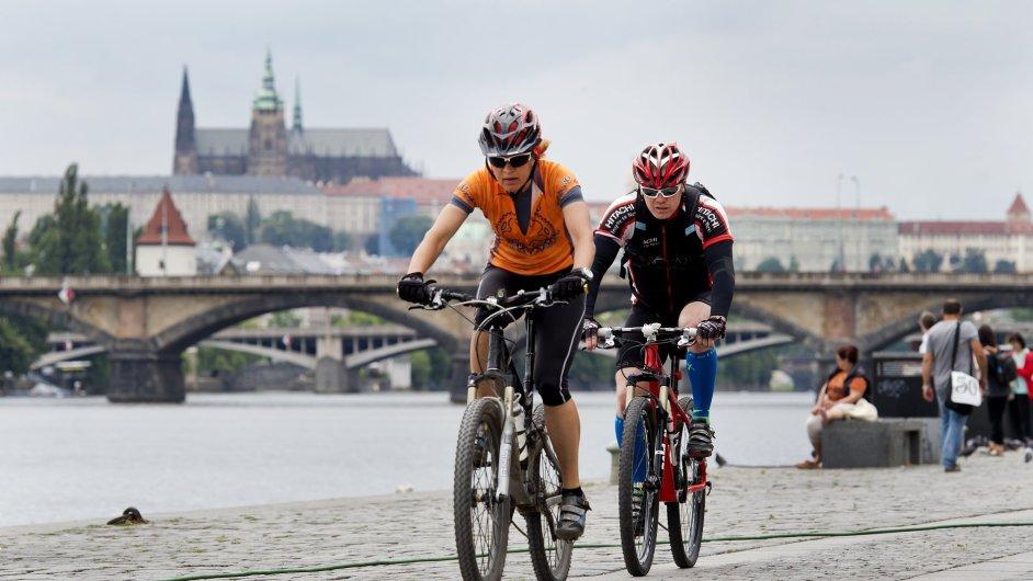 cyklistika, doprava, Praha