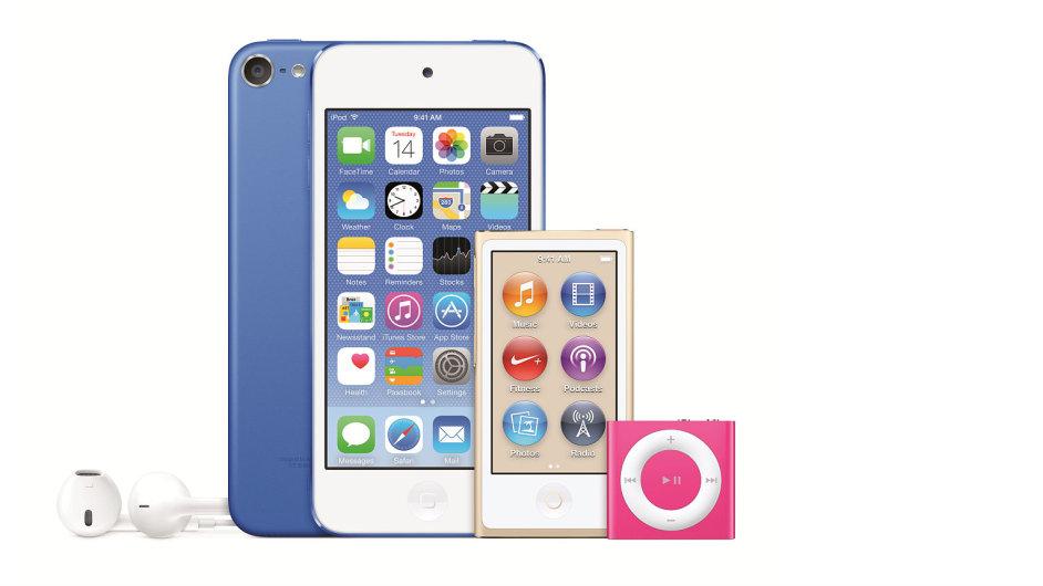 Nové iPody