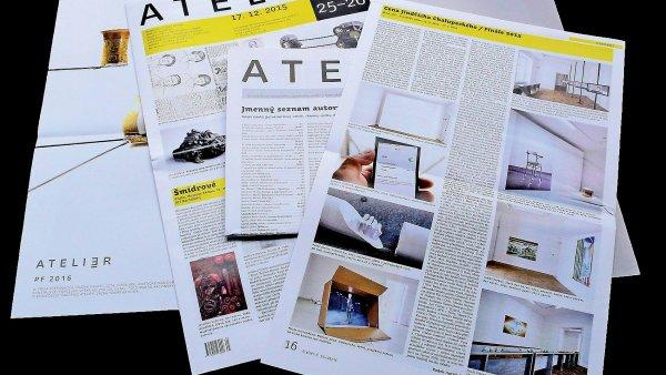 Poslední číslo časopisu Ateliér bude na stáncích v prodeji do 15. ledna.