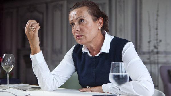 Ředitelka ERÚ Alena Vitásková.
