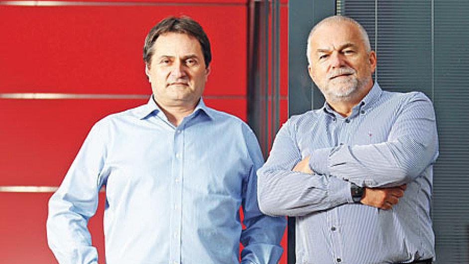 Michal Geisler a Jiří Vávra, majitelé firmy Enika CZ.