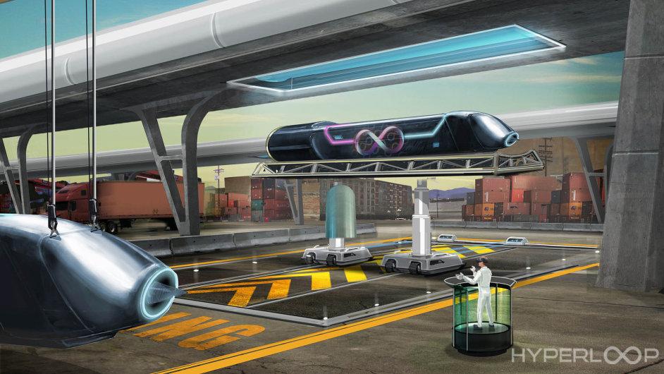 Pátý způsob dopravy. Potrubní přeprava lidí a aut by podle vizionáře Elona Muska mohla v budoucnu nahradit zastaralé rychlovlaky.