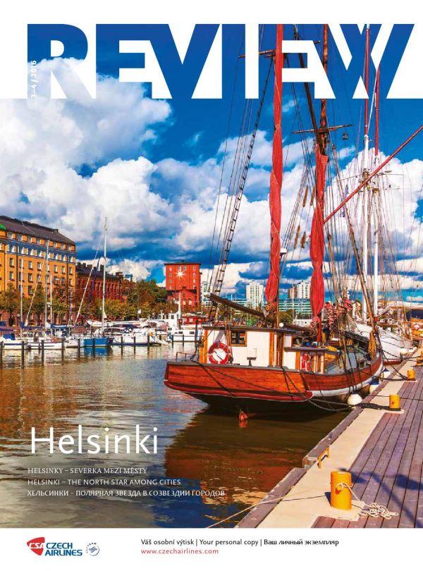 Palubní magazín ČSA Review 2/2016