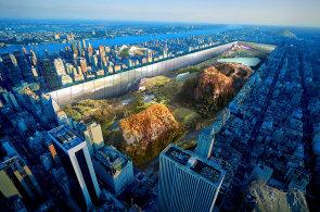 Zele� mezi mrakodrapy: Atmosf�ru newyorsk�ho Central Parku zn�sob� ob�� zrcadlo