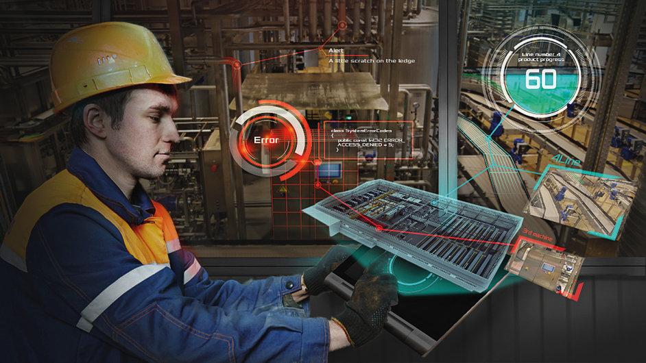 IoT ve výrobě, Průmysl 4.0, ilustrace