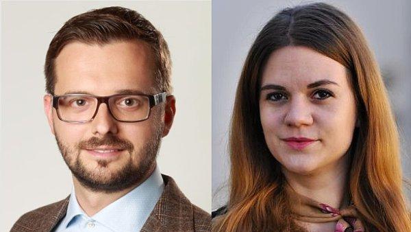 Jakub Salát a Iva Martinková, marketingové oddělení RENOMIA GROUP