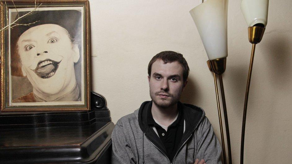 Spisovatel Marek Šindelka je na archivním snímku z roku 2012.