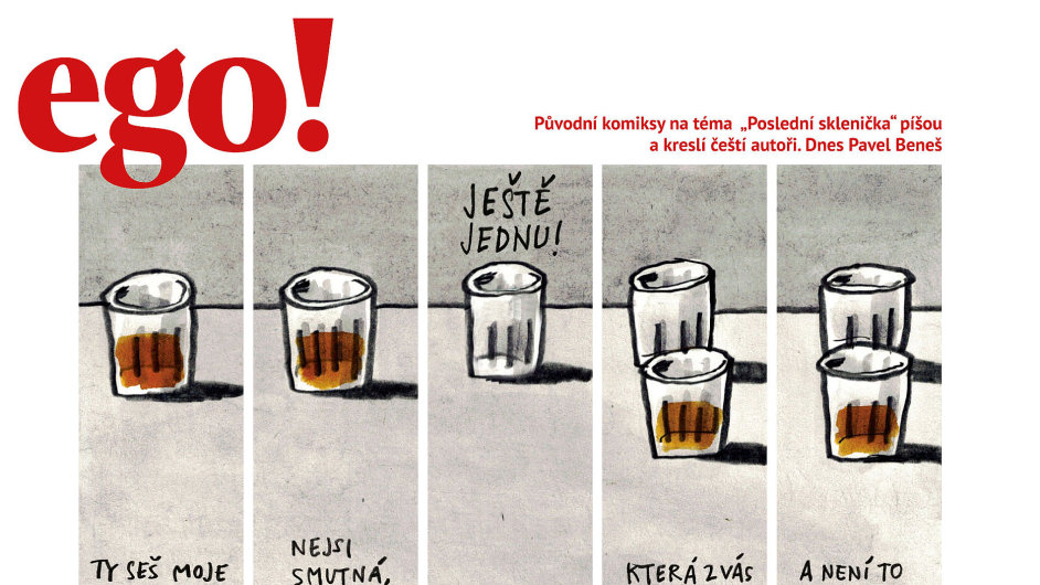 Aktuální vydání časopisu ego!