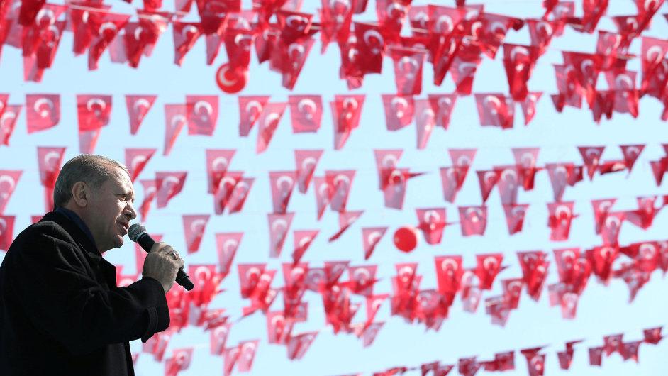 Erdogan, Turecko.