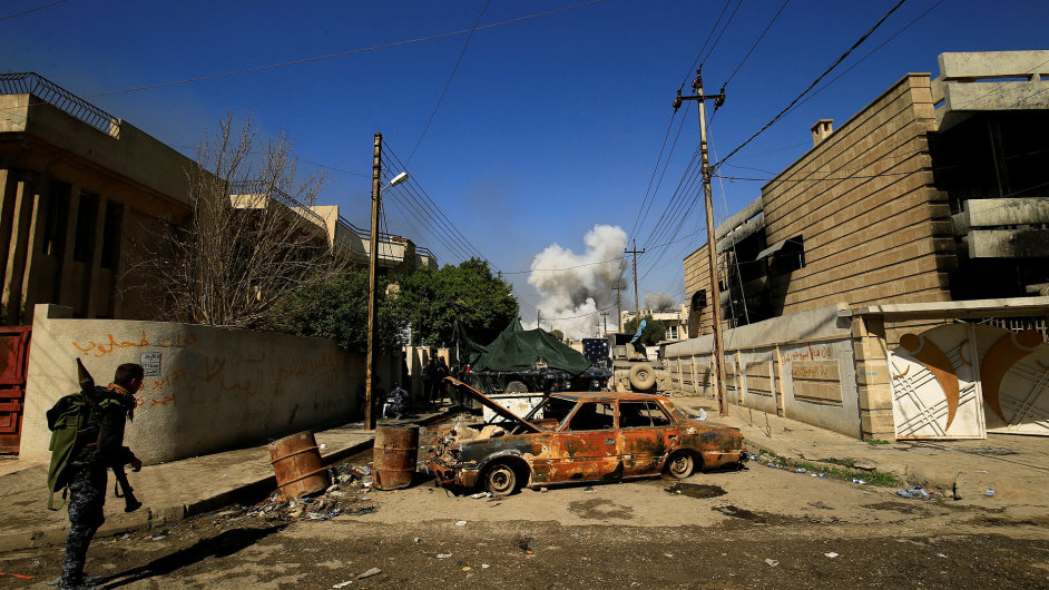 Mosul, Irák, válka, boje