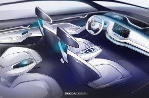 Škoda Auto zveřejnila další podrobnosti o designové studii Vision E, která je zároveň předobrazem prvního elektromobilu značky