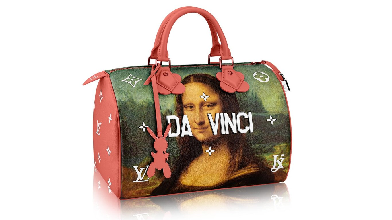 jeff koons louis vuitton design fashion bags dezeen hero 2
