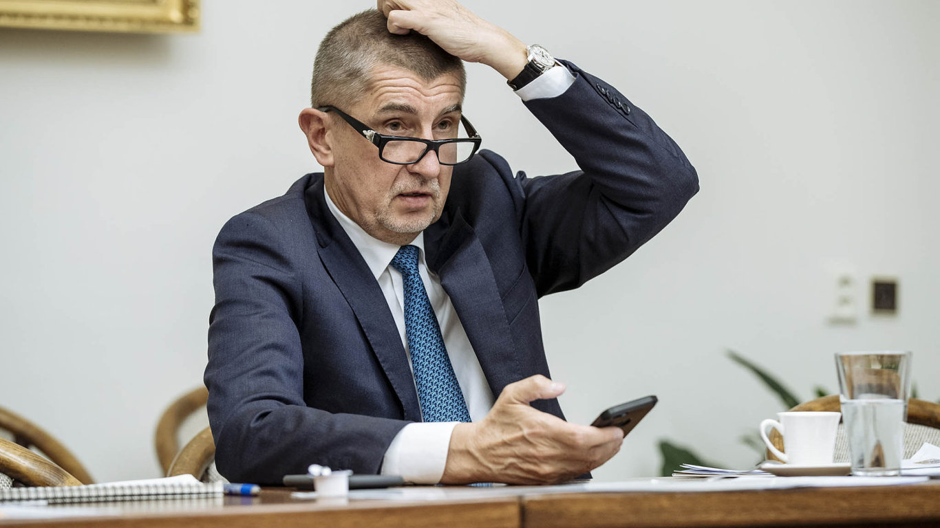 Andrej Babiš, ministr financí, předseda ANO
