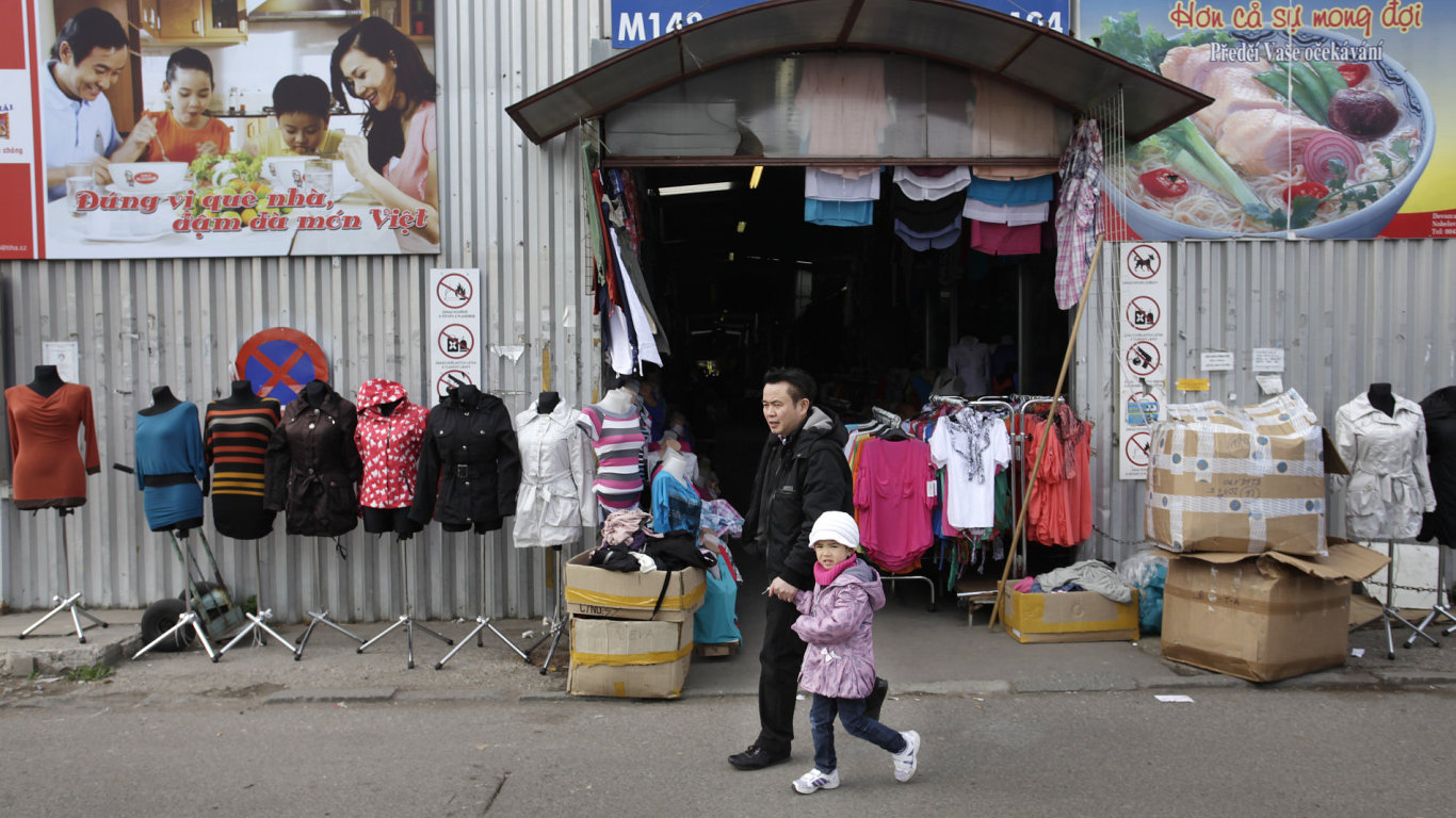 Vietnamská tržnice Sapa