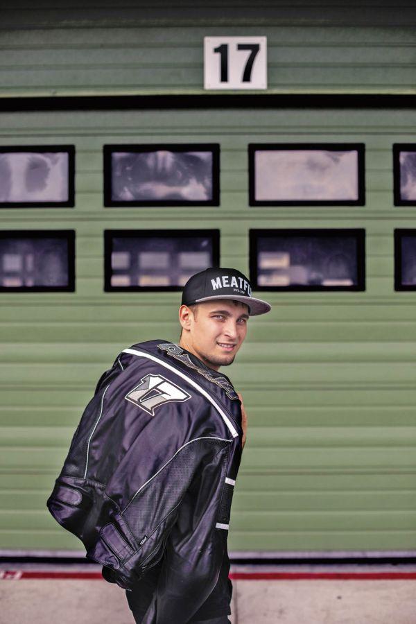 Český motocyklový závodník Karel Abraham