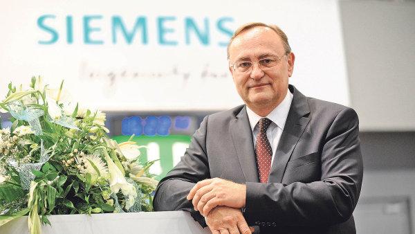 Eduard Palíšek, generální ředitel společnosti Siemens ČR.