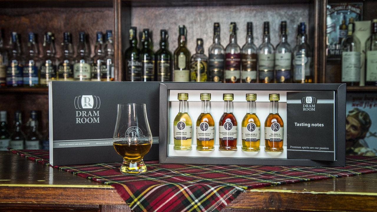 Zakladatelé DramRoom chtějí přiblížit Čechům požitek z prémiového alkoholu.
