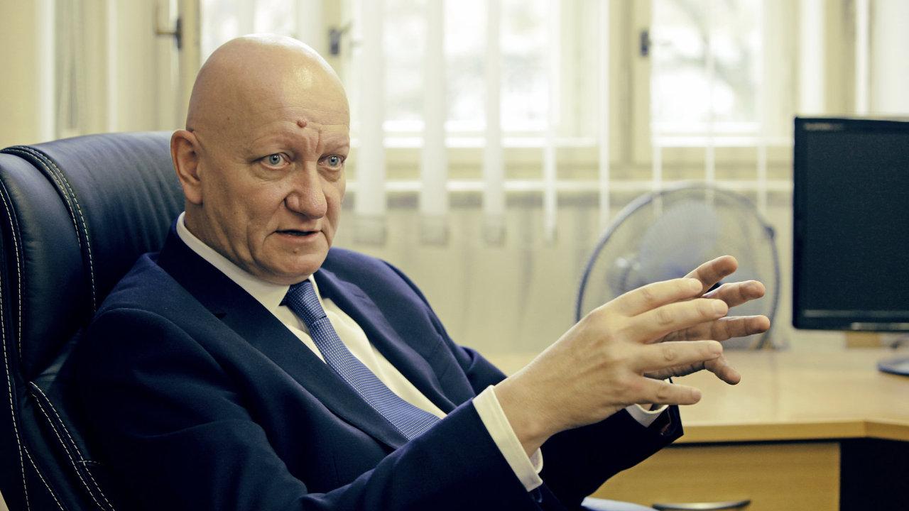 Nově zvolený rektor Českého vysokého učení technického (ČVUT) Vojtěch Petráček.