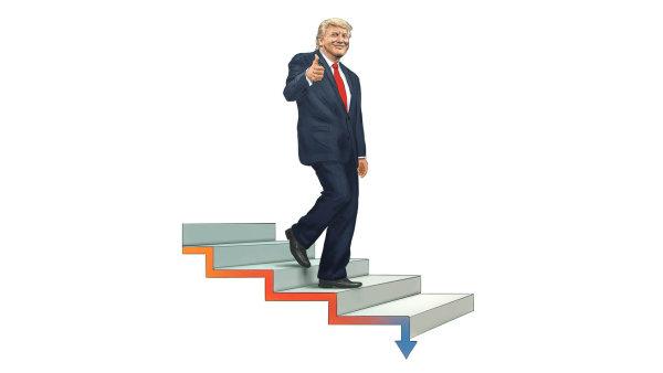 """""""Ruský Damoklův meč visí nad americkým prezidentem na nejtenčím vlásku,"""" předpověděl politolog Allan Lichtman, že Trumpovi setne vaz """"ruská aféra""""."""