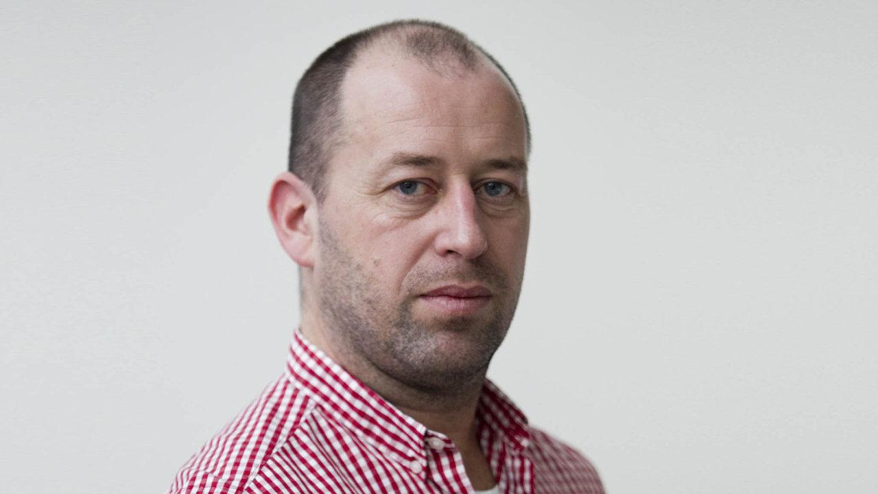 Šéfredaktor týdeníku Ekonom Dalibor Martínek
