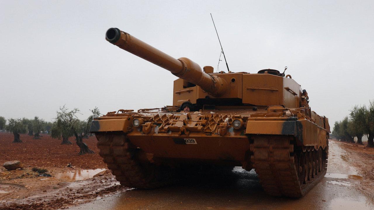Turecko tank Kurdové